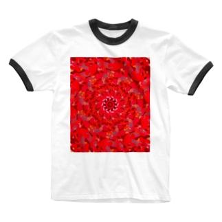 カエングルマ Ringer T-shirts