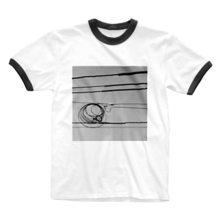 ELECTRIC WIRE リンガーTシャツ