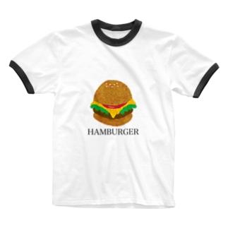 HAMBURGER《ハンバーガー》 Ringer T-shirts