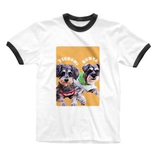 よっしぃのTSUBOMI Ringer T-shirts
