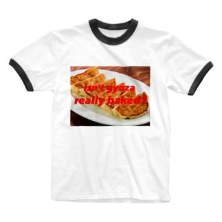 ギョウザシリーズ Ringer T-shirts
