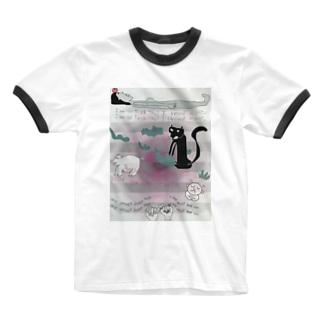 kotoaの約束 Ringer T-shirts