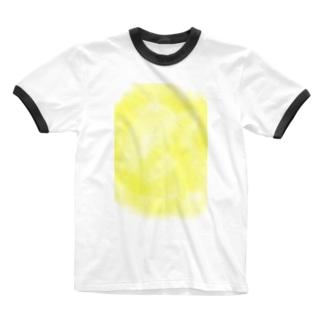 AIRのふんわりyellow Ringer T-shirts