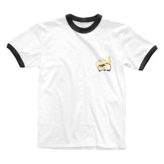 いもうとのモモオンくん Ringer T-shirts