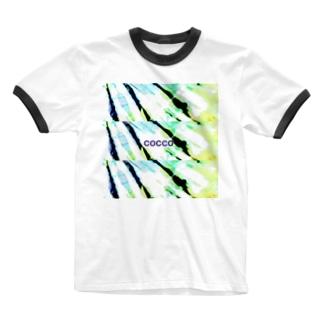こっこさんのCOCCO・D2 Ringer T-shirts