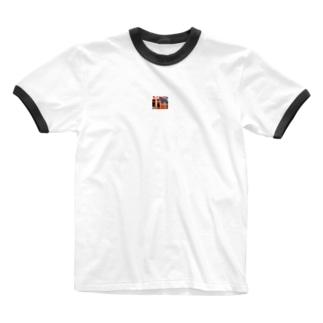 アメノウズメ姐さん Ringer T-shirts