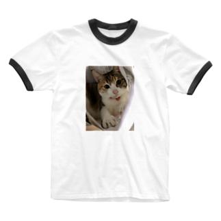 三毛猫のひめ 7 Ringer T-shirts