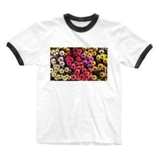 flower Ringer T-shirts