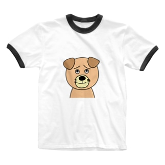 ワンコ先生 Ringer T-shirts