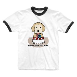 ハタチ(復刻版) Ringer T-shirts