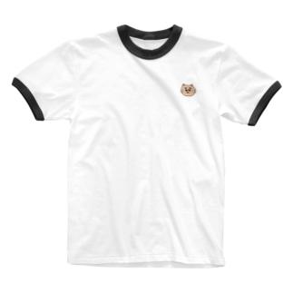 抱きしめてほしそうに見つめるネコ Ringer T-shirts