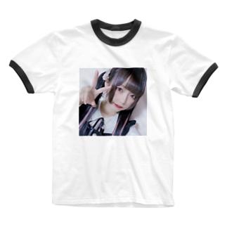 おんな2 Ringer T-shirts