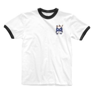 ゆののお店のoh!黒柴犬 Ringer T-shirts