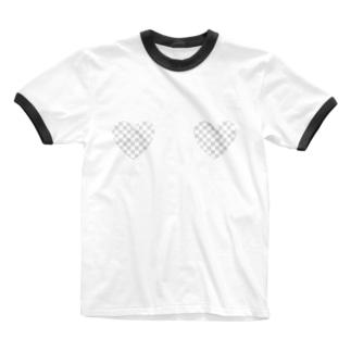 えぼの❤︎透過❤︎ Ringer T-shirts