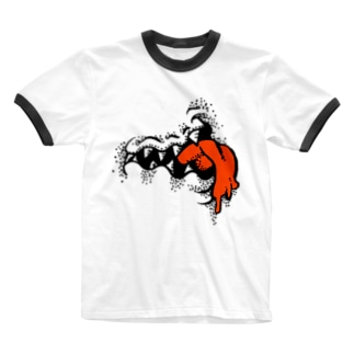 FUNNFUNN - モンスター- Ringer T-shirts