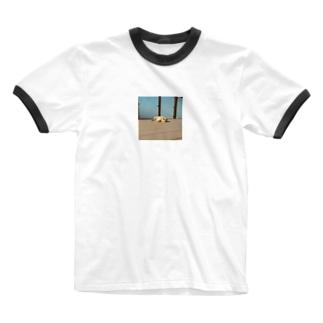 ポチ子Tシャツ Ringer T-shirts
