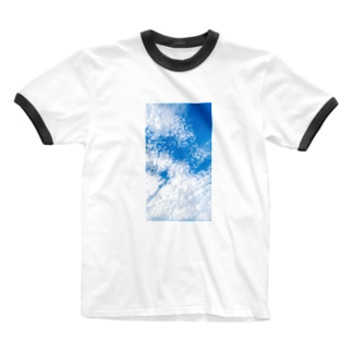 Scale cloud. Ringer T-shirts