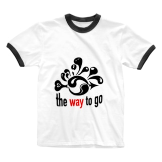 The Way To Go Ringer T-shirts