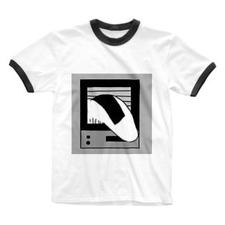 こんぺい工房のくる〜きっとくる〜? Ringer T-shirts