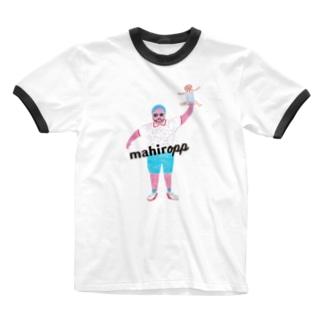 su-su-haのファンキーパパ Ringer T-shirts