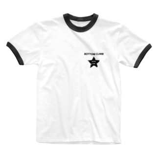 BOTTOM CLIMB  Ringer T-shirts