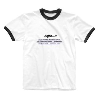 Agre...//のAgre...// lovesick Ringer T-shirts