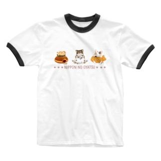 ニッポンのおやつ-Bタイプ Ringer T-shirts