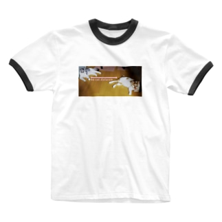 so cat distance Ringer T-shirts