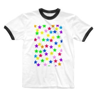 星 Ringer T-shirts