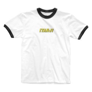 ITANJI logo tee Ringer T-shirts