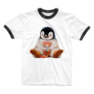 まなつ&まふゆの遊んでくれ🐧 Ringer T-shirts