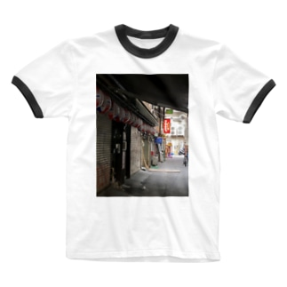 セイなる夜 Ringer T-shirts
