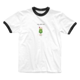 くりぃむそーだ Ringer T-shirts