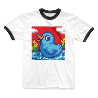 ドットバード Ringer T-shirts