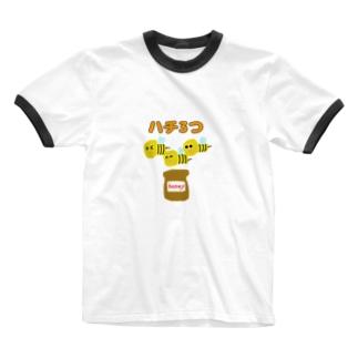 蜂蜜Tシャツ Ringer T-shirts