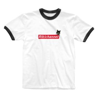 リキちゃんBOXROGOシリーズ Ringer T-shirts