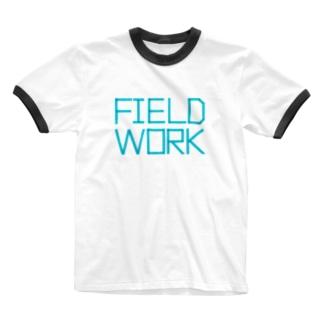 FIELD WORK / フィールドワーク Ringer T-shirts