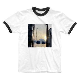 お空 Ringer T-shirts