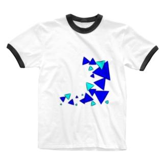 青三角 Ringer T-shirts