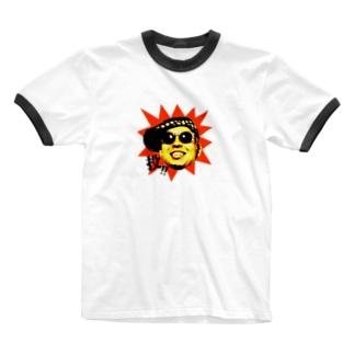 「投!」シリーズ Ringer T-Shirt
