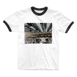 大阪駅 Ringer T-shirts