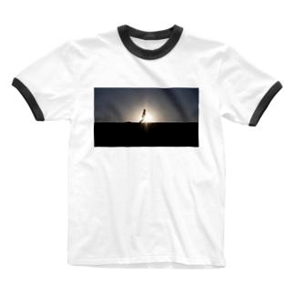 Sun Light Ringer T-shirts