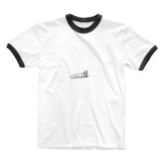 【寝袋】 by harumin Ringer T-shirts
