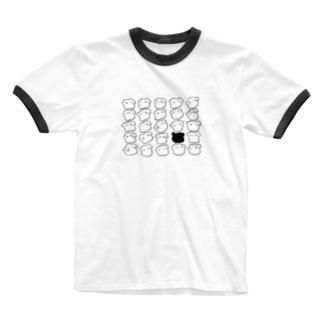 餃子がいっぱい。 Ringer T-shirts