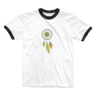 ドリームキャッチャー#5 Ringer T-shirts
