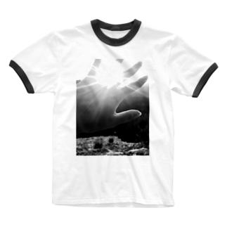 太陽の光 Ringer T-shirts