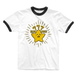 せきらら☆なほし君 Ringer T-shirts