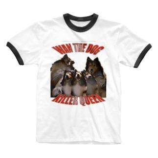 WAN KILER QUEEN Ringer T-shirts