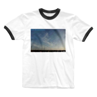 We Are Waiting for Rising Sun(その6) Ringer T-Shirt