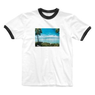 南の島 Ringer T-shirts